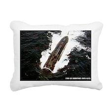guardfish rectangle magn Rectangular Canvas Pillow