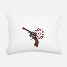 i shoot blanks-2 Rectangular Canvas Pillow