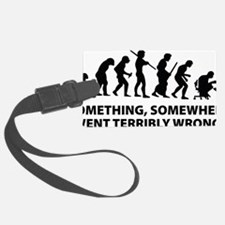 somwhereWrong1A Luggage Tag