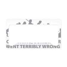 somwhereWrong1C License Plate Holder