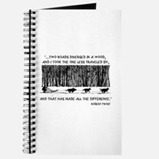 The Road Less Traveled Sled D Journal