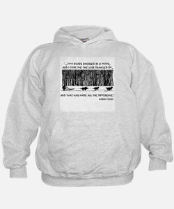 The Road Less Traveled Sled D Hoodie