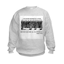 The Road Less Traveled Sled D Sweatshirt