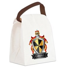 CAMPBELL COAT OF ARMS FAMILY CRES Canvas Lunch Bag