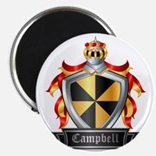 CAMPBELL COAT OF ARMS FAMILY CREST Magnet