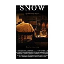 Snow Movie Poster (Large) Decal
