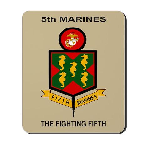 5th Marine Regiment<BR>Mousepad