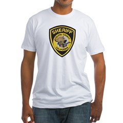 Colusa County Sheriff Fitted T-Shirt