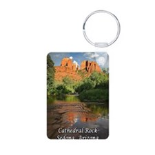 cathedral rock_text Keychains