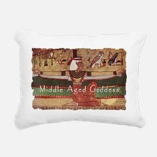 Isis with text 3.gif Rectangular Canvas Pillow