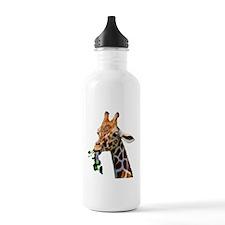 380cutoutgaraffe Water Bottle