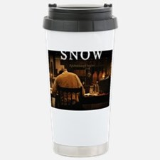 Snow Mouse Pad Stainless Steel Travel Mug