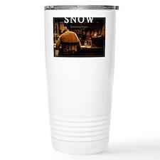 Snow Mouse Pad Travel Mug