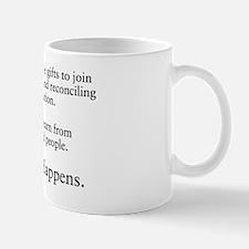 Church Happens 1 Mug