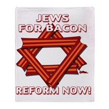 jews-for-bacon-2012-a Throw Blanket