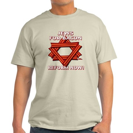 jews-for-bacon-2012-a Light T-Shirt