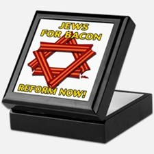 jews-for-bacon-2012-b Keepsake Box
