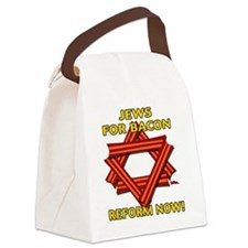 jews-for-bacon-2012-b Canvas Lunch Bag