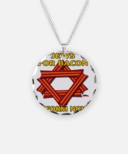 jews-for-bacon-2012-b Necklace