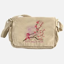 cherryblossom-dark Messenger Bag