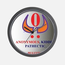 ANONYMOUS PATHECTIC Wall Clock
