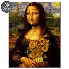 Mona Van Gogh V2 Puzzle