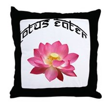 LotusEater Throw Pillow