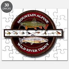 Brook Trout Brown Trout Puzzle