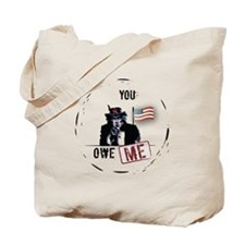 flag display(btn) Tote Bag