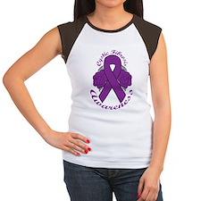 sticker Women's Cap Sleeve T-Shirt