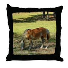Doing Lunch Alone Throw Pillow