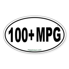 100+ MPG Euro Decal