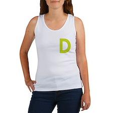WHITE_DDD_LION Women's Tank Top
