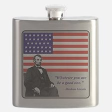 LincolnFlag9 Flask