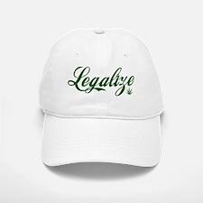 legalizeGreen Baseball Baseball Cap