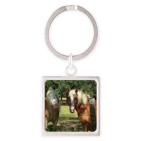 New Hair Stylist Square Keychain