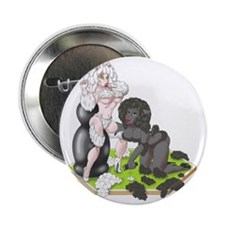 """Wood for Sheep (image) 1 2.25"""" Button"""
