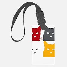 LogoNYCFCI-CatSilhouettes4-Squar Luggage Tag