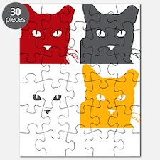 LogoNYCFCI-CatSilhouettes4-Square-Transpare Puzzle