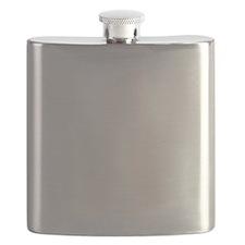 Be-Nice-whiteonblack Flask