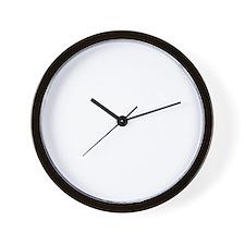 Be-Nice-whiteonblack Wall Clock