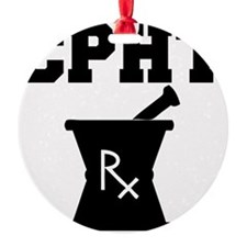 CPHT-2-blackonwhite Ornament