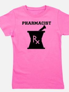 Pharmacist-4-blackonwhite Girl's Tee