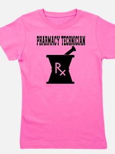 Pharmacy-Technician-3--blackonwhite Girl's Tee
