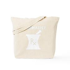 Pharmacist-4-whiteonblack Tote Bag