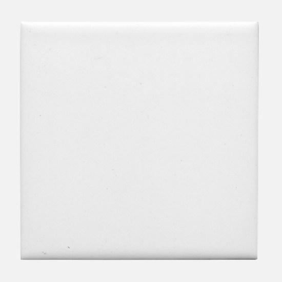 Pharmacy-Technician-3---whiteonblack Tile Coaster