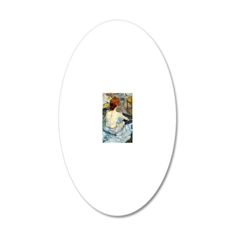 GC TL 2 20x12 Oval Wall Decal