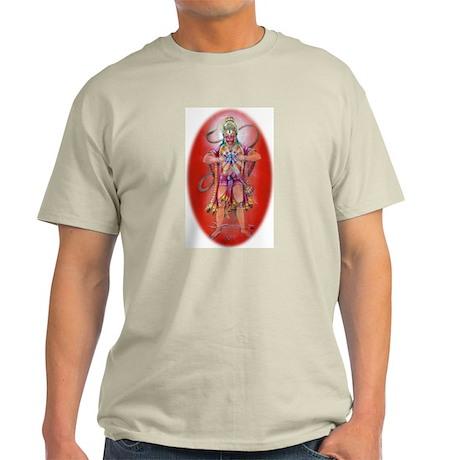 Hanuman's Devotion - Ash Grey T-Shirt