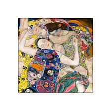"""Pillow Klimt V Square Sticker 3"""" x 3"""""""