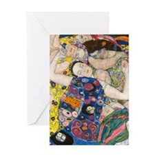 FF Klimt V1 Greeting Card